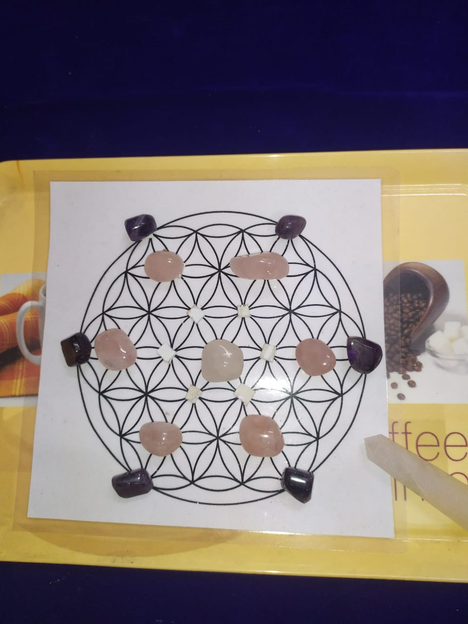 Earth Healing Crystal Grid